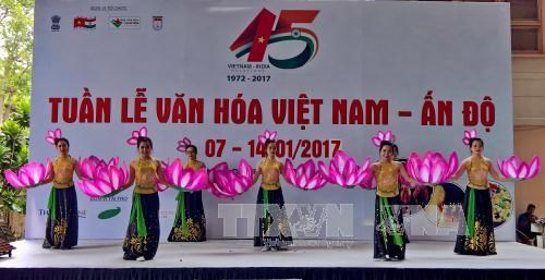 Vietnam-India Culture Week opens in HCM City hinh anh 1