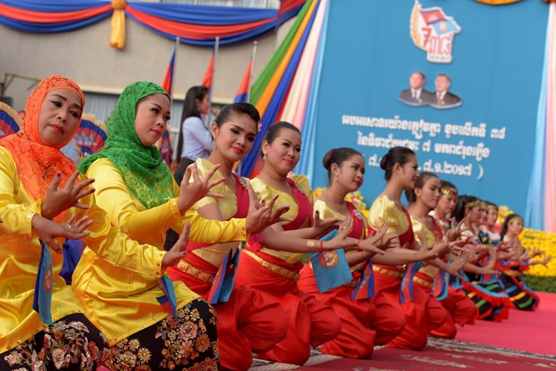 Cambodian media stress Vietnam's role in victory over Khmer Rouge hinh anh 1