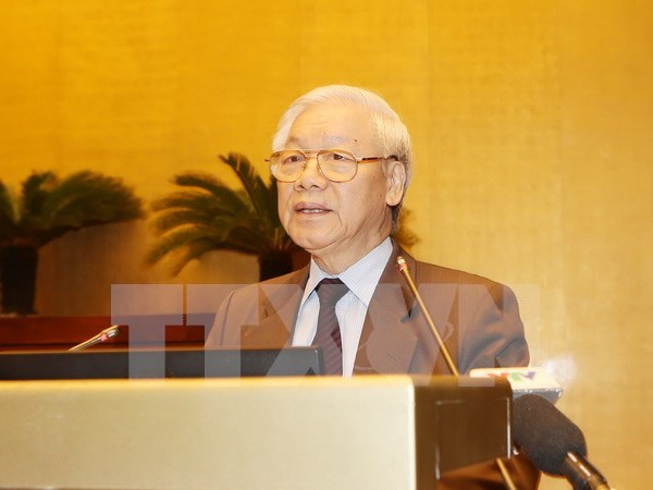 Party chief to pay official visit to China in mid-January hinh anh 1
