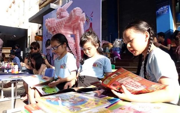 HCM City prepares for Street Book Festival hinh anh 1
