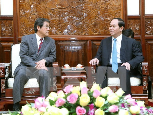 President highlights growing relations with Japan hinh anh 1