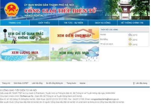 Hanoi launches online air quality index hinh anh 1