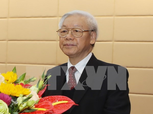 Party chief's China visit to define long-term direction for bilateral ties hinh anh 1