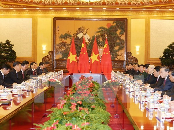 Vietnam, China seek to boost win-win cooperation hinh anh 1