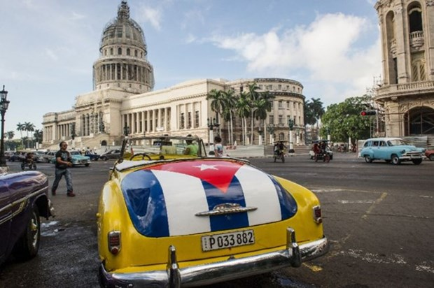 Vietnamese community in Cuba celebrate Tet 2017 hinh anh 1