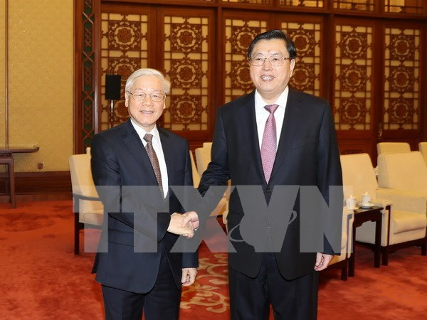Parliamentary cooperation crucial to Vietnam-China political trust hinh anh 1