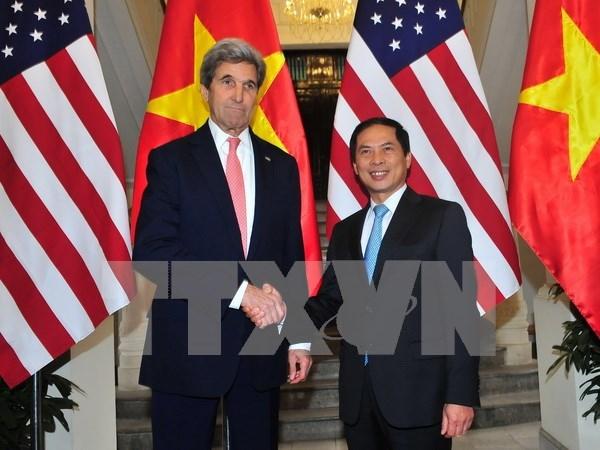Vietnam, US promote comprehensive partnership hinh anh 1