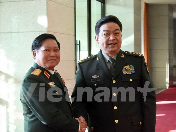 Vietnamese defence minister meets Chinese counterpart in Beijing hinh anh 1