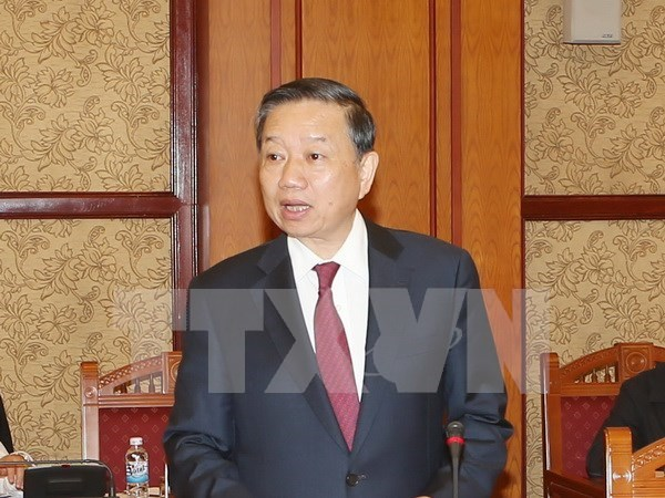 Vietnam, China to foster security cooperation hinh anh 1