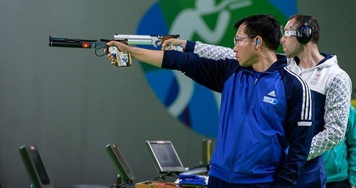 Hoang Xuan Vinh to participate in ISSF World Cup hinh anh 1
