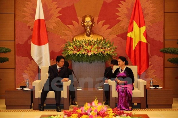 NA Chairwoman: Vietnam attaches importance to ties with Japan hinh anh 1