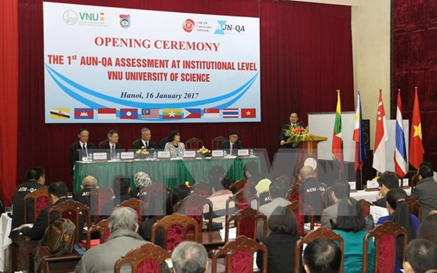 Vietnam's first university takes international quality verification hinh anh 1