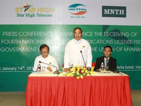Viettel becomes fourth telecom provider in Myanmar hinh anh 1