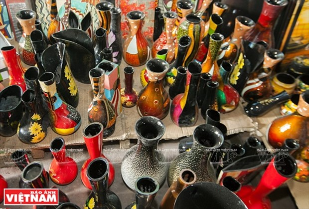 Tuong Binh Hiep lacquerware art becomes national intangible heritage hinh anh 2