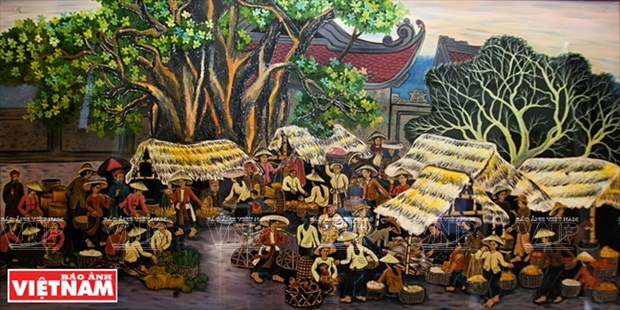 Tuong Binh Hiep lacquerware art becomes national intangible heritage hinh anh 3