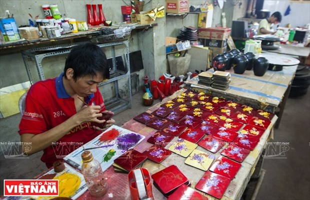 Tuong Binh Hiep lacquerware art becomes national intangible heritage hinh anh 1