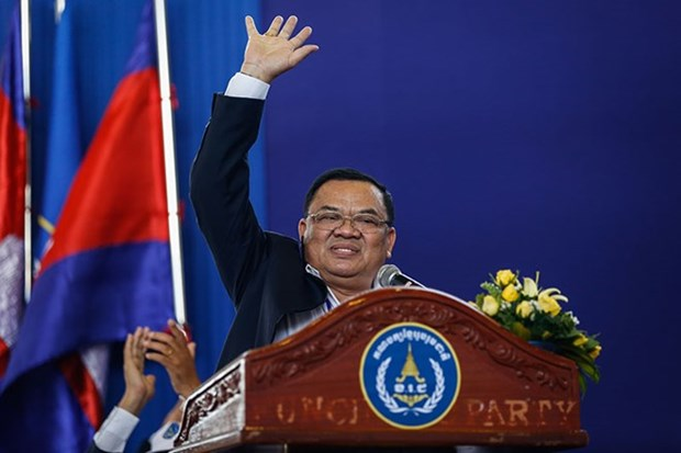 Cambodia: two political parties form alliance ahead of election hinh anh 1