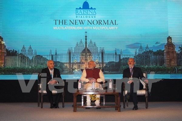 Vietnam partakes in Raisina Dialogue in India hinh anh 1