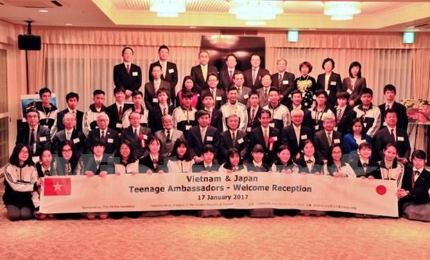 Vietnam - Japan teenager ambassador exchange opens in Japan hinh anh 1