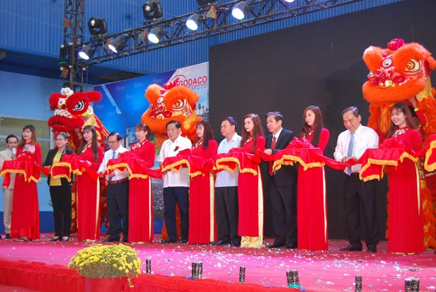 Food factory using Thai technology inaugurated in Ben Tre hinh anh 1
