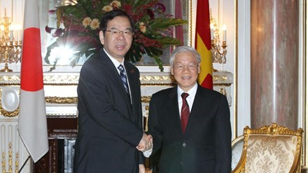 Congratulations to Japanese Communist Party hinh anh 1