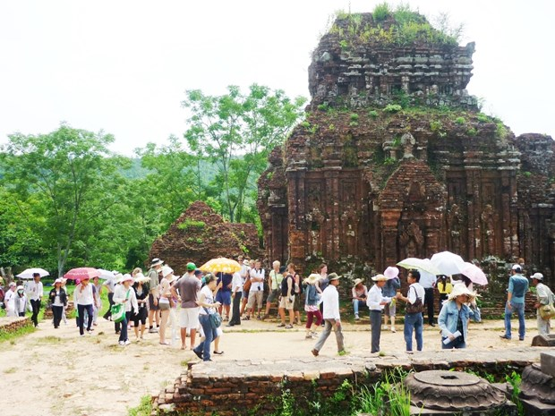 My Son relic site faces pressure from increasing visitors hinh anh 1