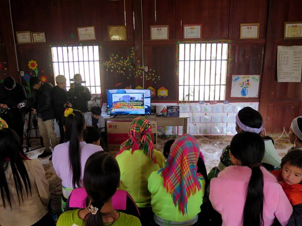 More hamlets in Thai Nguyen get access to electricity hinh anh 1