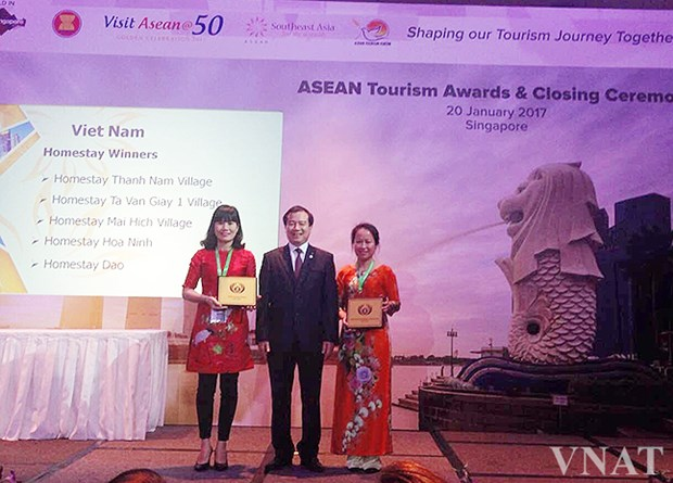 Vietnamese community based-tourism honoured at ASEAN tourism forum hinh anh 1