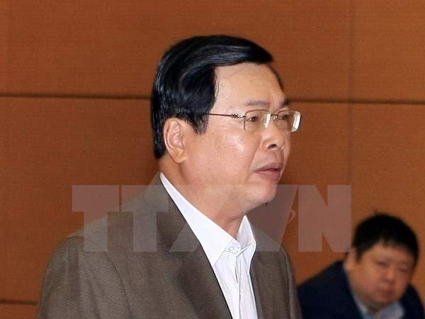 NA issues resolution on discipline against Vu Huy Hoang hinh anh 1