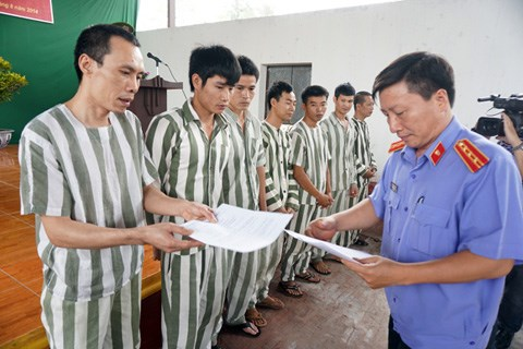 Tay Ninh: Clemency granted to over 600 prisoners hinh anh 1