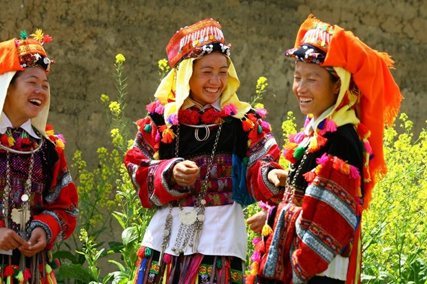 Spring festivals of ethnic minority groups hinh anh 1