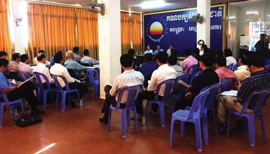 Cambodian opposition party boycotts parliamentary meeting hinh anh 1