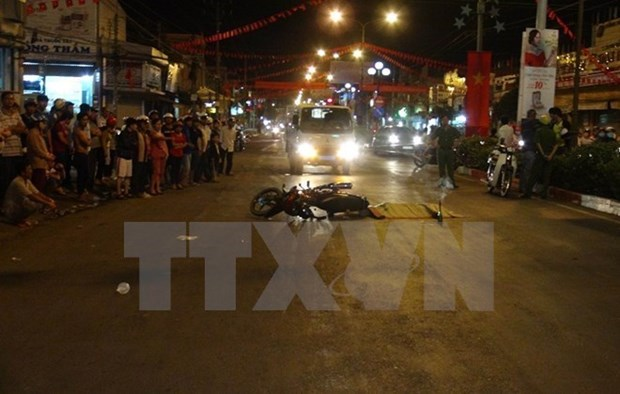 Traffic accidents rise sharply during Tet hinh anh 1
