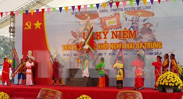 Vice President attends Trung sisters' uprising celebration hinh anh 1