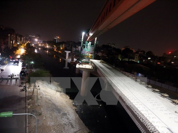 Cat Linh – Ha Dong elevated railway to begin test run in October hinh anh 1