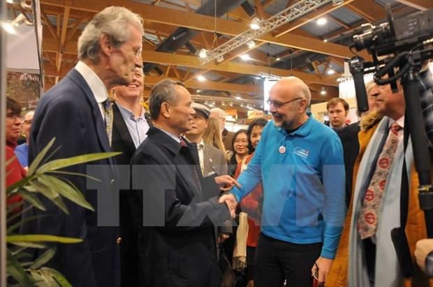Vietnamese tourism introduced at Belgian tourism fair hinh anh 1