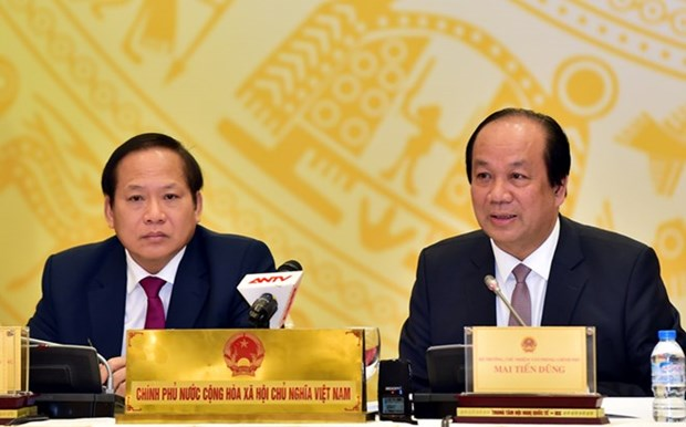 Gov't to continue with building institutions in 2017 hinh anh 1