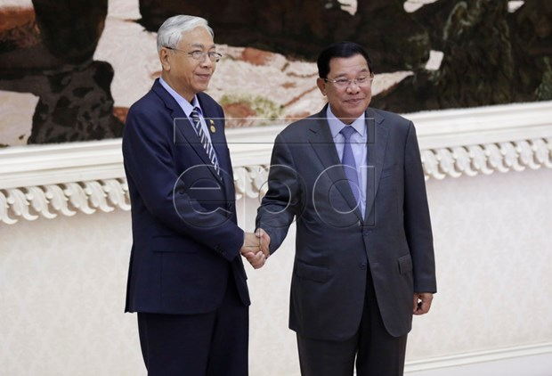 Cambodia, Myanmar bolster tourism, education cooperation hinh anh 1