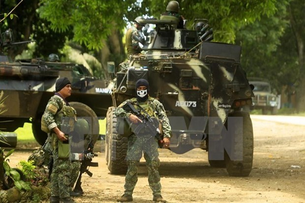 Philippines army pledges of insurgent crackdown hinh anh 1