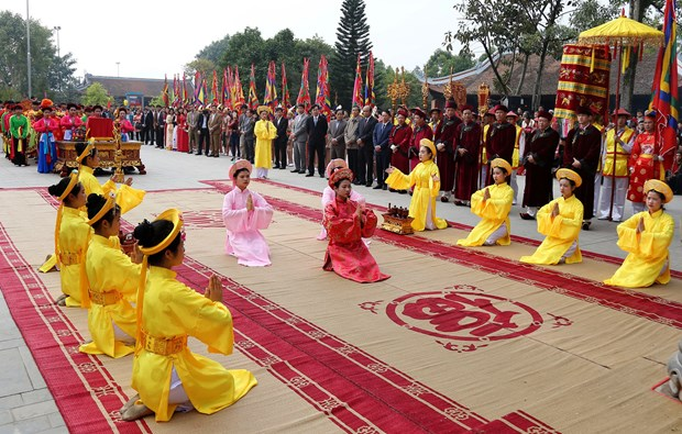 A variety of festivals celebrate lunar New Year hinh anh 1