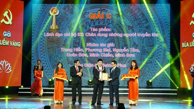 Journalism contest highlights Party-building work hinh anh 1