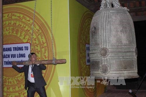Pair of ancient bells in Cao Bang recognised as national treasures hinh anh 1
