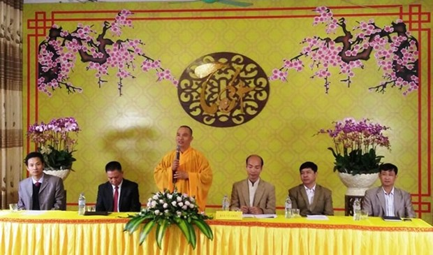 Buddhist festival promotes healthy lifestyle hinh anh 1