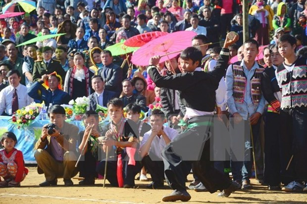 Mong ethnic culture festival 2017 held in Ha Giang hinh anh 1