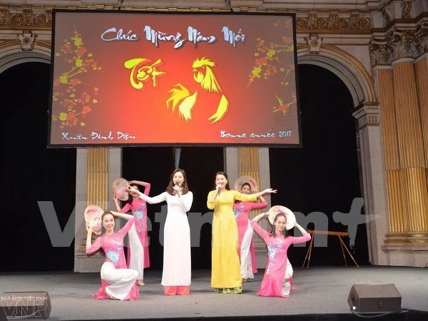 Overseas Vietnamese celebrate traditional Tet festival hinh anh 1
