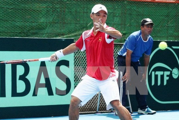 Vietnam lose to Hong Kong in first round of Davis Cup hinh anh 1