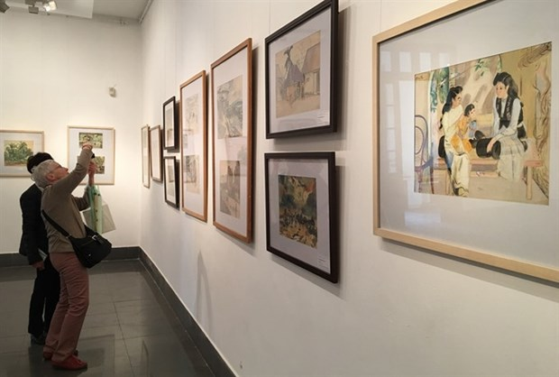 National museum exhibits historic sketches hinh anh 1