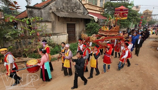 Unique breeding fertility festival in Phu Tho province hinh anh 1