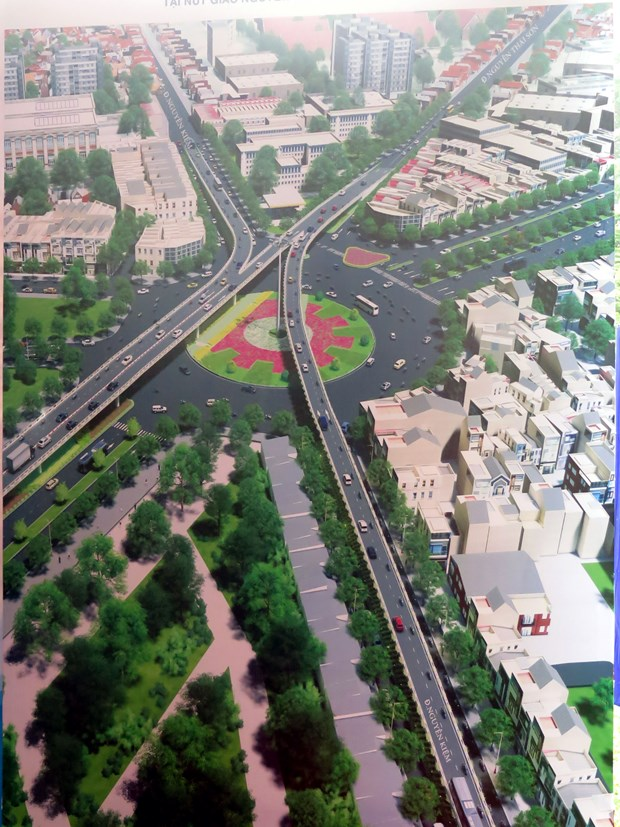 HCM City builds flyovers to deal with traffic congestion hinh anh 2