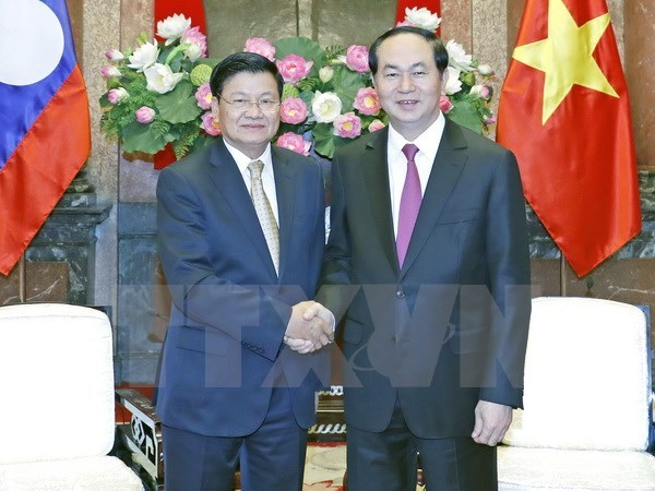 President hails outcomes of Vietnam-Laos Inter-Gov't Committee meeting hinh anh 1